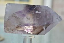 Beautiful Smokey Phantom Amethyst Polished Point Quartz Pará Brazil A+++