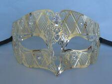 Gold Filigree Metal Venetian Party Masquerade Mask No.3 * NEW *