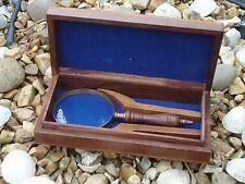 Nautique loupe dans un coffre avec laiton ancre un très beau cadeau/mer