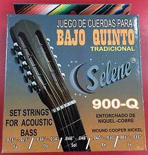 Juego De Cuerdas Para Bajo Quinto. Set Of Strings For Bajo Quinto Guitar.