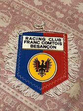 Fanion Racing Club Franc Comtois Besançon Foot Football Pensant Wimpel Vintage
