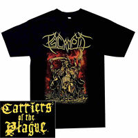 Psycroptic Carriers Of The Plague Shirt S-XXL Officl Tshirt Death Metal T-Shirt
