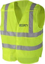 Safety Green High Visibility Reflective 5 Point Breakaway Security Safety Vest