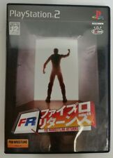 PS2 Fire Pro Wrestling Returns Video Game - JAPAN ONLY