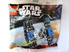 2665) Lego Star Wars (8028) TIE wing fighter pilote PROMO polybag