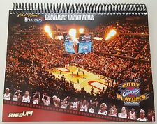 Cleveland Cavaliers 2007 NBA Playoffs 1st Round Media Guide NBA LEBRON JAMES