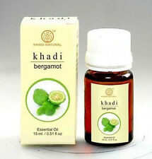 Khadi Bergamot Fragrance Oil 100% Undiluted Pure Natural Essential Oil 15ml