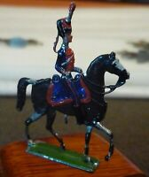 6 Old Flat Tin Soldiers, Hand Painted on both sides, very good (A)