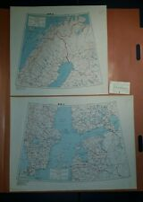 1945 US Army Special Strategic Maps Sweden and Finland AMS 6201 1:2,000,000
