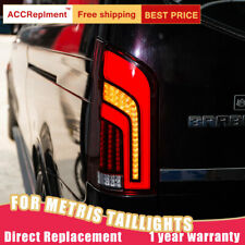 For Benz Metris V206 2016-2020 LED Taillights Assembly Red / Dark LED Rear Lamps