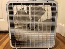 "RARE Vintage Westinghouse Blue Kmart 22"" Metal Box Fan TESTED WORKS GREAT!!!"