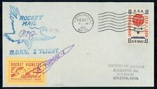 Mayfairstamps Us 1960 Soar I Rocket Flight Porpoise I cover wwf44545