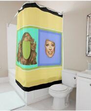 Aaron Powell  Farrah  Fawcett Head and Hair shower curtain Charlies Angels