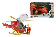 Kinder Best Simba Figuren Feuerwehrmann Sam Hubschrauber mit Figur Spielzeug NEU