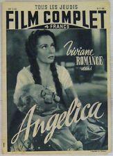 Revue Le Film Complet n° 110 Angelica Viviane Romance 1948