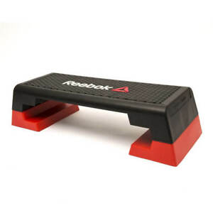 Reebok Studio Step Adjustable Aerobic Stepper Cardio Gym Exercise Platform
