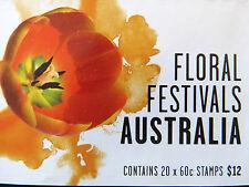 Australian Stamps: 2011 - Floral Festivals Australia Booklet