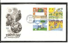 US SC # 2954a Earth Day FDC. Artcraft Cachet.