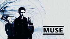 "EVAN 029 Muse - Art Print Rock Band Music Art 25""x14"" Poster"
