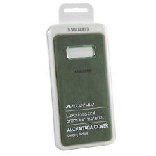 Coque en Alcantara kaki pour Samsung Galaxy Note8