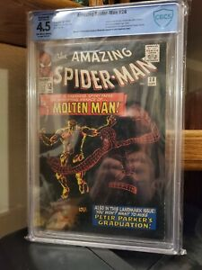 Amazing Spiderman #28 Graded by CBCS (4.5) Restored