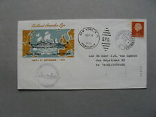 NETHERLANDS, eventcover 1959, maidentrip SS Rotterdam  to New York