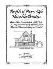 Portfolio of Prairie Style House Plan Drawings - Architectural Plans