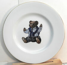RALPH LAUREN POLO BEAR PLATE 1992 WEDGWOOD MADE IN ENGLAND EXCELLENT
