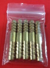 """5pcs Brass 3/16"""" Hose ID Fitting Barbed Splicer Mender Fitting Air Water Fuel"""
