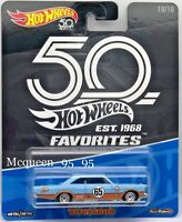 2018 Hot Wheels 50th Anniversary Favorites 10/10 Gulf Racing '65 FORD GALAXIE