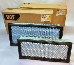 Caterpillar CAT 2656618 2656619 Cab Air Filters Set Skid Steer & Track Loaders