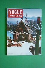 L'UOMO VOGUE supplemento 364/2005 autunno/inverno 2006/07 CAHIER DE TENDANCES