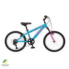 Mongoose 20 inch Mountain Bike Girls Pink Bicycle Suspension Shimano