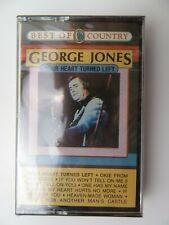 George Jones Your Heart Turned Left (Cassette) New Sealed