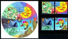 Gb 2001 Sg Ms2201 The Weather - Barometer - Miniature Sheet + 4 Singles Mnh