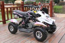 50cc Quad Bike Pink Dirt Ninja Mini Off Road Petrol 2 Stroke Kids Warranty 49cc