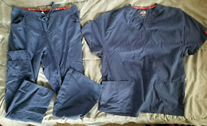 Dickies Women's Navy Blue Scrub Set - Medium