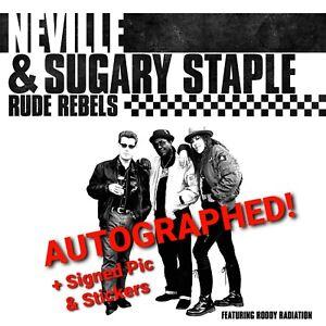 EXCLUSIVE WHITE VINYL LP RUDE REBELS 2TONE SKA FROM THE SPECIALS REGGAE PUNK