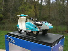Solido 1/18 Moto scooter Lambretta LD 125 Side car 1958