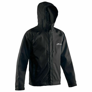 BRAND NEW BLACK Grundens Weather Watch Hooded Sport Fishing Rain Jacket GAGE