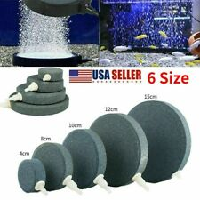 1Pc Aquarium Fish Tank Pond Pump Oxygen Bubble Disk Air Pottery Stone Aerator