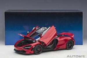 Autoart McLaren 720S Memphis Red in 1/18 Scale New Release!