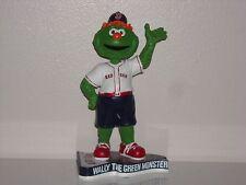 WALLY THE GREEN MONSTER Boston Red Sox Mascot Bobble Head 2013 Pennant Base New*