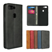 For Oppo R15 Pro / Neo Luxury Magnetic Leather Wallet Flip Case Cover Protective