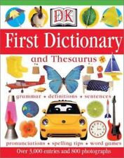 Children's HARD COVER DK First Dictionary and Thesaurus 2002 American Edition