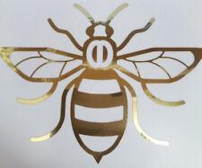 Manchester Bee Van Voiture Fenêtre Autocollant Decal Vinyle Chrome Or
