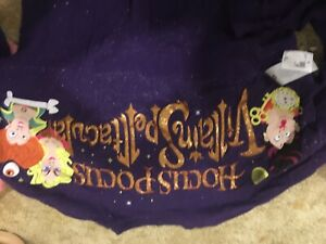 Disney hocus pocus spirit jersey size xs