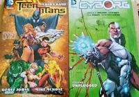 Teen Titans: A Kids Game & Cyborg: Unplugged (TPB SET) New 1st Release