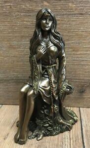 Statue - Junge Frau/ Jungfrau by Lisa Parker - Maiden - bronziert - Dekoration -
