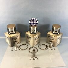 NEW YAMAHA SPI PISTON SETS 65MM STD BORE 1999-2002 VMAX MOUNTAIN MAX SX 600R